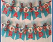 Daniel Tigers Neighborhood Happy Birthday Banner