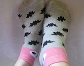 Women cotton Socks,Bats PatternSocks