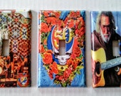 3 Grateful Dead Light Switch Covers - 50th Anniversary Set of 3