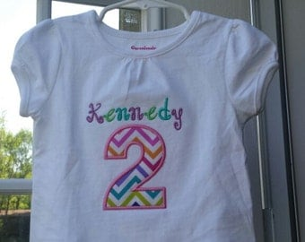 Personalized Birthday Shirt/ Birthday Shirt/ Custom Birthday Shirt