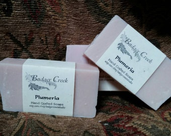 Plumaria handcrafted Shea butter Soap