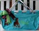 Fun Large Market Basket  Personalized FREE
