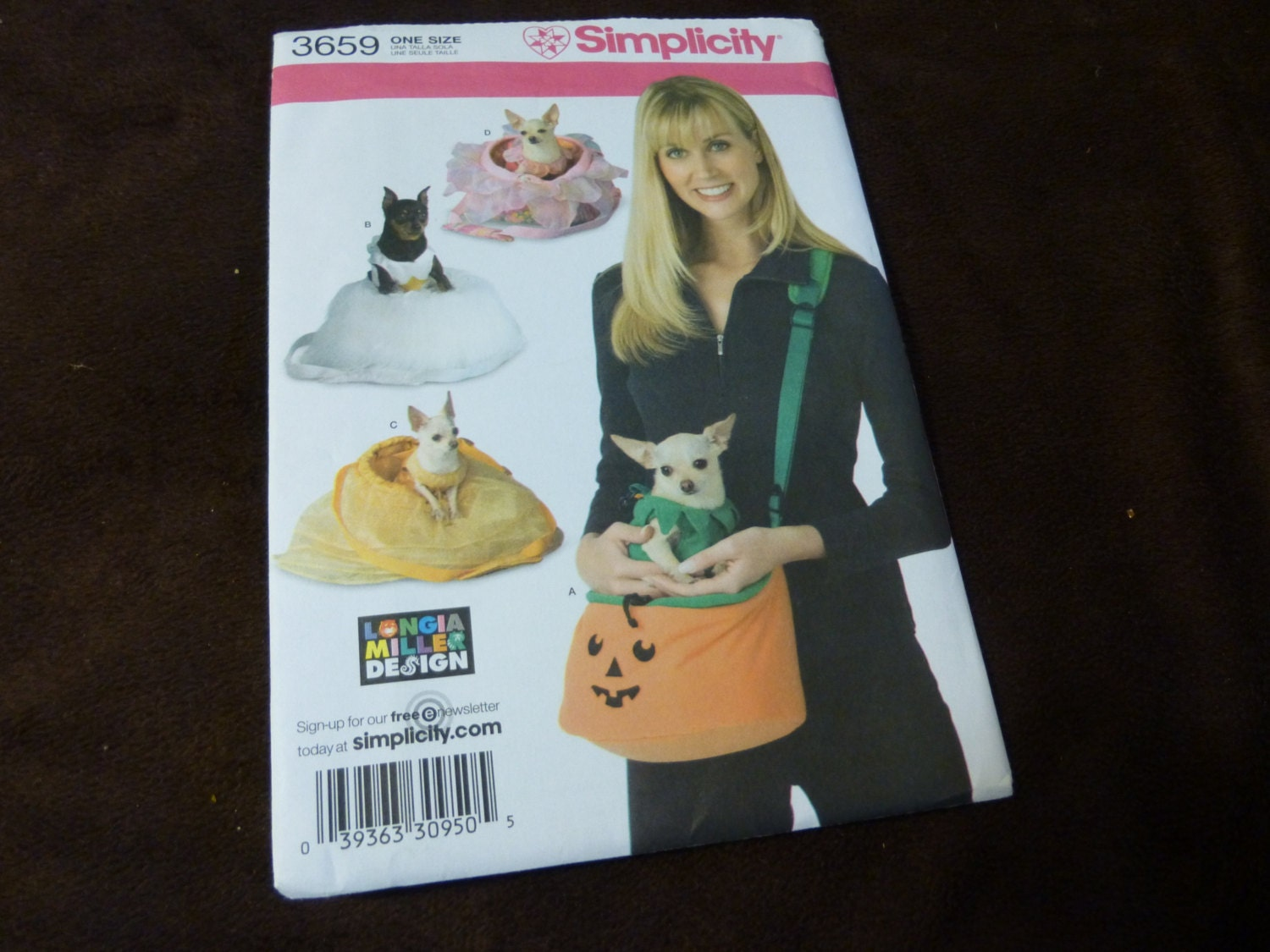 Cup Costume Pattern 3659 Tea Cup Dog Costumes