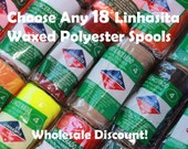 Buy Any 18 Linhasita Macrame Colors- Whole Sale Discount Package