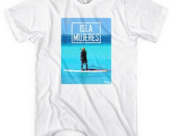 Isla Mujeres Photo V1 T-shirt - Men and Unisex - XS S M L XL 2x 3x 4x - Isla Mujeres Shirt - 1 Color