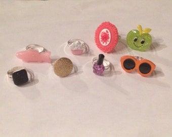 HUGE DEAL! 15 Adjustable Ring Grab Bag!