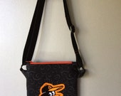 Baltimore Orioles Embroidered Crossover Bag