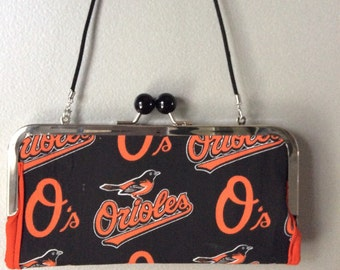 Baltimore Orioles clutch/wallet