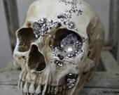 Bride & Groom embellished skulls