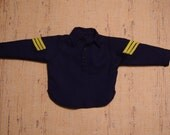 1/6th Scale Navy Blue Cavalry Enlisted Fatigue Shirt (Made to Order)