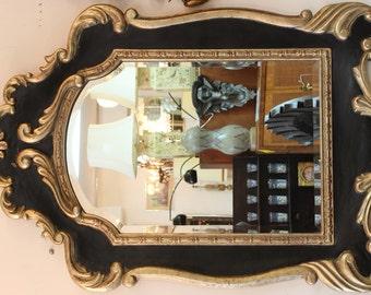 Vintage Hollywood Regency Mirror