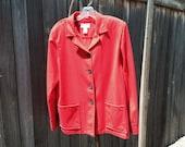 Pendleton Ladies Red Wool 40/50s knockabout jacket