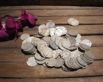 Old Burma Coins 100 Coins Round