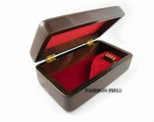 New Pipe Wooden Box - Carved Gift Box for Tobacco Smoking Pipes Exclusive Designed For pipe Smokers