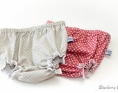 Baby Nappy/Diaper Cover - Photo Shoot, Everyday - 100% Cotton - Newborn to 18-24 months, handmade, vintage style print