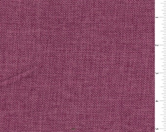 "60"" Fuschia Vintage Look Linen Fabric-15 yard bolt"