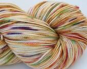 Superwash Merino, Nylon, Stellina, Sock Yarn, 438 yrds, 2 ply, 100g