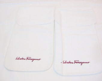 Pair of Salvatore Ferragamo Shoe Dustbags