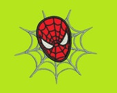 Spiderman Applique Embroidery Design (244) Instant Download