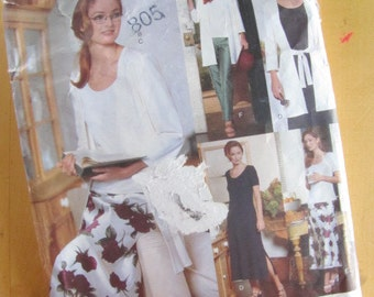 Vogue Sewing Pattern 1975 - Five Easy Pieces - Size 20-24
