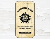 Supernatural Cell Phone Case - iPhone Case - iPod Touch 5 Case - Samsung Galaxy Case
