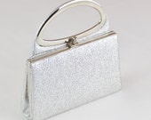 Doris Day Vintage Silver Evening Bag Purse