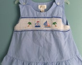 Smocked swing top Blouse size 3t/4t