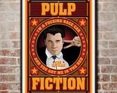 Pulp Fiction: The Hitman Vincent Vega Movie Poster