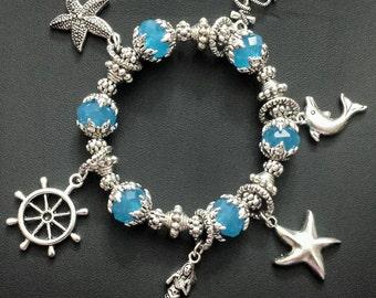 Under the Sea Charms Bracelet