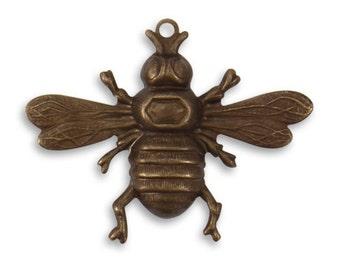 Vintaj 26.5x33mm Bumble Bee