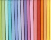 Bella Solids 17 Colors One Fat Quarter Each