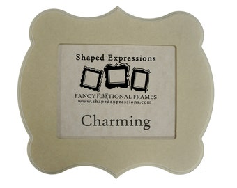 11x14 whimsical picture frame - 'Charming' unfinished