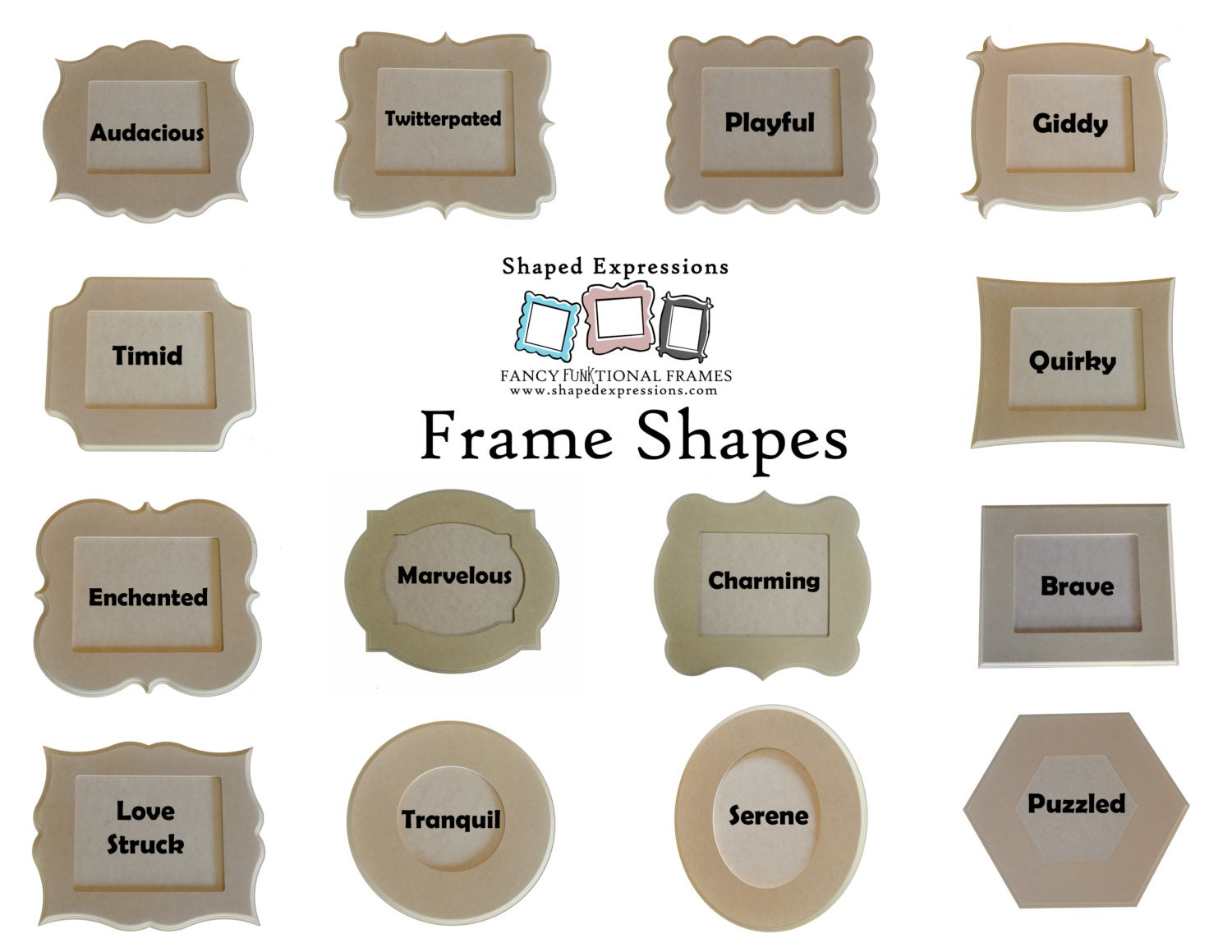 5x7 picture frame pack 5 unfinished whimsical picture frames 5000 jeuxipadfo Images