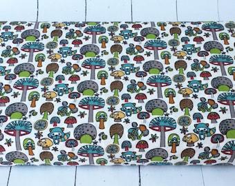 Picnic Whimsy - Mushroom Forest - Birch Fabrics - 727-T - 1/2 Yard