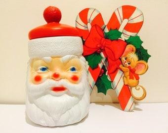 Vintage Santa Cookie Jar by Empire