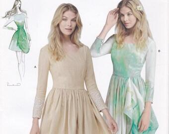 Leanne Marshall Dress Pattern Simplicity 0429 1196 Sizes 12-20 Uncut