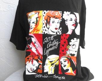 "Vintage Bob Mackie Studio T-Shirt "" 20th Century Legends"""