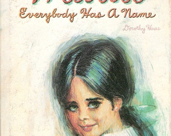 MARIA Everybody Has a Name Vintage Whitman Big Tell a Tale Book by Dorothy Haas Illustrated by David K Stone
