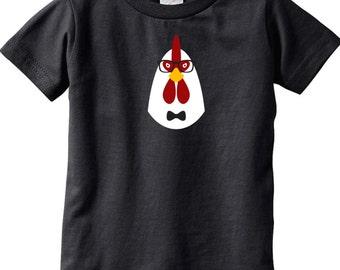 Kids Screen t-shirt - Hipster Chicken