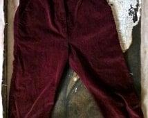 Vintage pantalon de enfant  en velours France