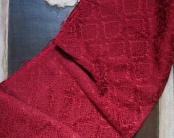Textile Tissus ancien en coton et lin france