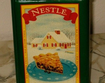 Vintage Nestle Chocolate Advertising Tin