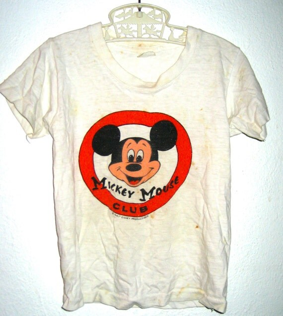 Vintage mickey t shirt Goodman