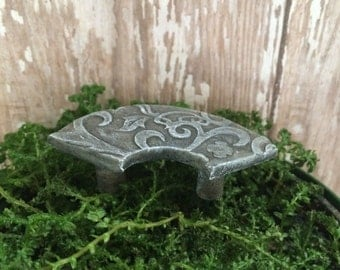 Fairy Garden miniature accessory hand made miniature park bench fairy furniture terrarium miniature accent fairy gnome garden dollhouse mini