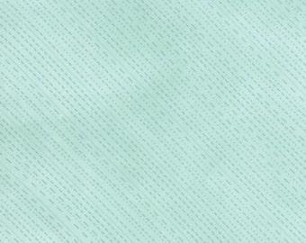 Basicgrey Fresh Cut for Moda - Floral Orchid Alley - Aqua - Bermuda - FQ Fat Quarter cotton quilt fabric 516