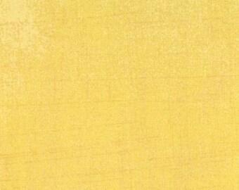 Basicgrey - Grunge for Moda - Solid Yellow - Chiffon - 15 - 1/2 Yard Cotton Quilt Fabric 516