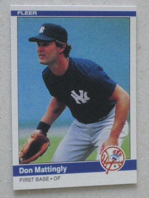 1984 Fleer Don Mattingly Rookie 131 New Just In
