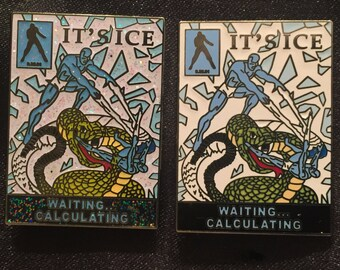 Phish-Iceman/Its Ice Pin 2 Pin LE 25 and LE 100 matching number set