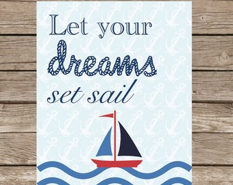 Printable Nautical Nursery Art