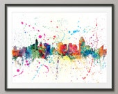 Cincinnati Skyline, Art Print (1206)